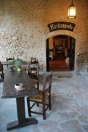 Abbazia San Pietro in Valle: Restaurant