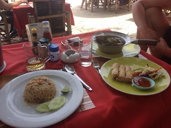 Your Place Bar: thai food! meraviglioso!