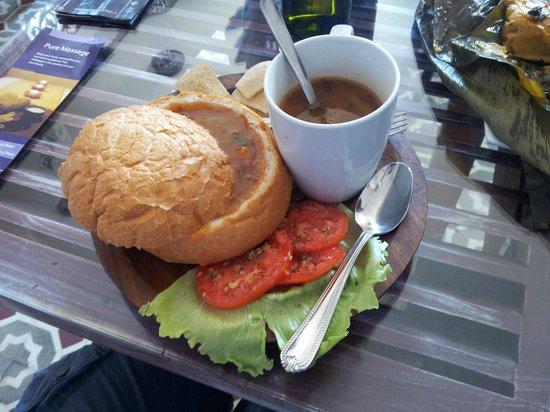 Casa Sucre Boutique Hotel : Deliciosa sopa