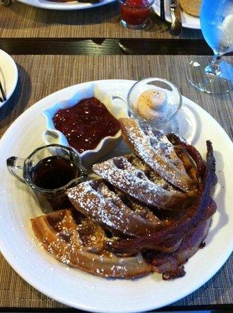 Snoqualmie, Etat de Washington : Snoqalmie Hotel - delicious breakfast