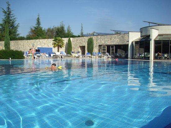 Hotel Sollievo Terme: piscina esterna