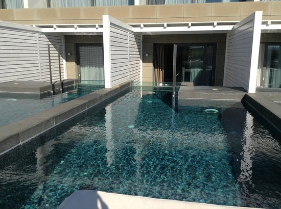 Aqua Blu Boutique Hotel + Spa : Private pool!