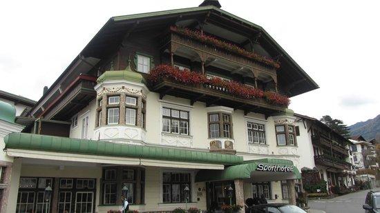 Sporthotel Igls: Hôtel typique et très bien situé