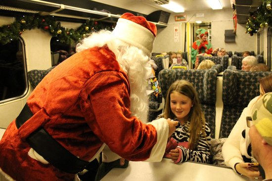 weardale railway the first gift of xmas the polar express