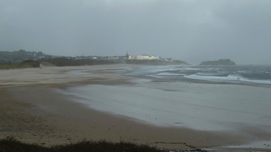 Tenby Golf Club: Storm
