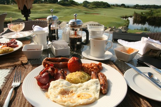 Vipingo Ridge : A good breakfast sets you on the way for a good round of golf