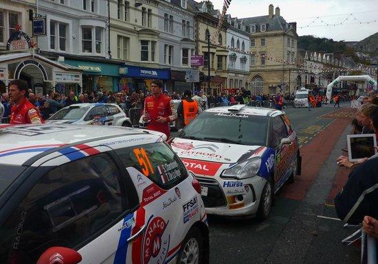 The 2013 World Rally Championship @ Mostyn Street, Llandudno