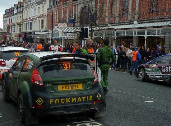 2013 World Rally Championship on Mostyn Street,