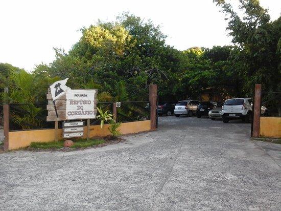 Pousada Refugio do Corsario : entrada