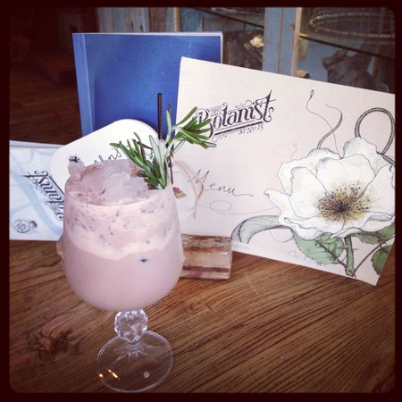 The Botanist: Rosemary and chocolate goblet. X
