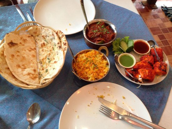 Taj Palace Indian Restaurant : i think best indian food in Aonang