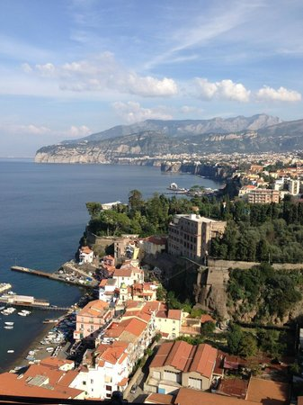 Hotel Bristol: City view of Sorrento