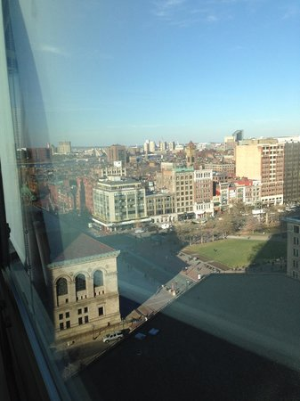The Westin Copley Place, Boston: View from the 12th Floor