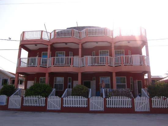 Caye Caulker Condos: View from the beachfront