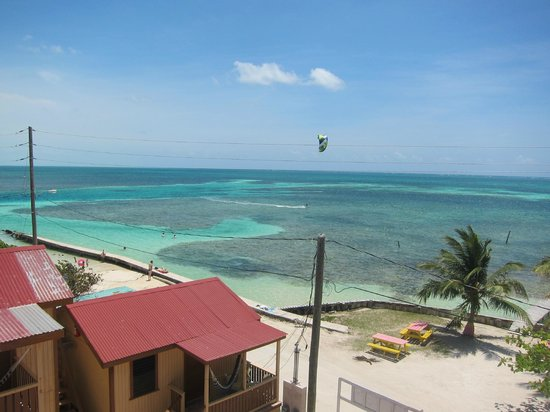 Caye Caulker Condos: View from the roof terrace