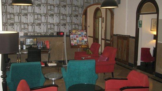 Hotel Lloret Ramblas: salon/recepcion