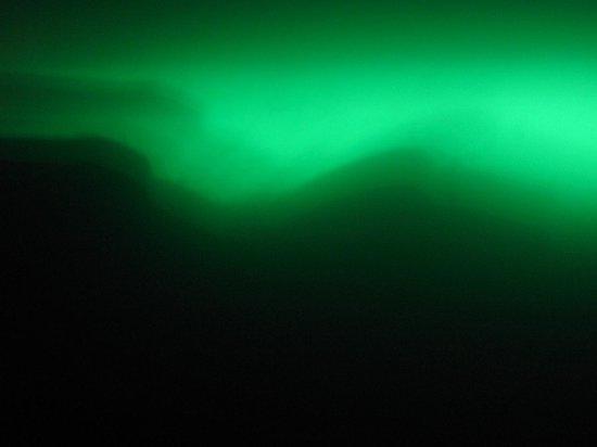 Abraao Cove: Imagem durante o mergulho na gruta