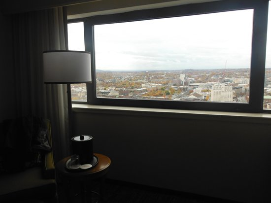 Boston Marriott Copley Place: habitacion piso 32