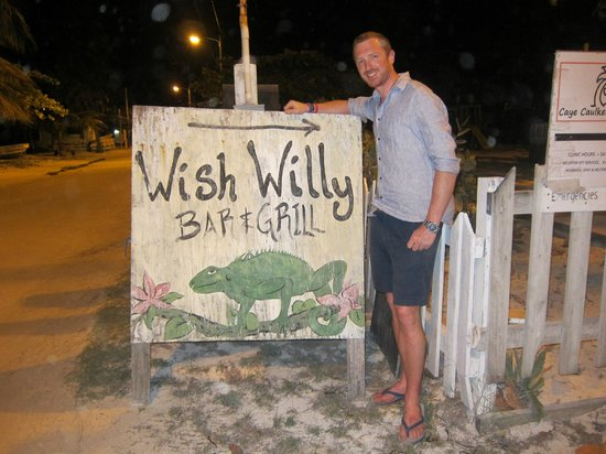Wish Willy - Bar & Grill : Just in case you get lost...