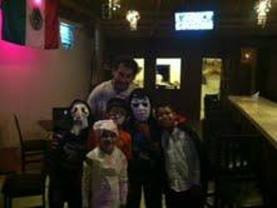 Morgan's: Morgan's Owner with the kids
