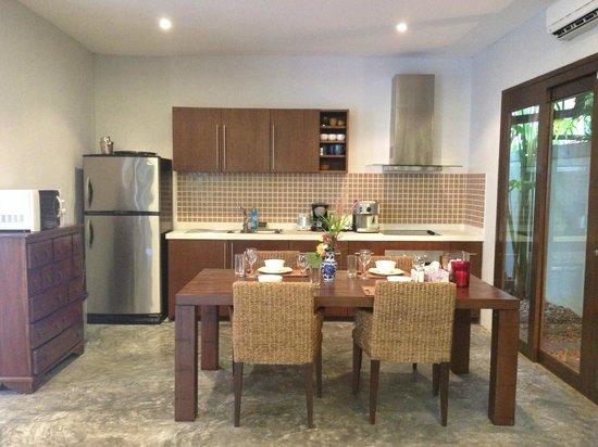 Villa Suksan : cocina