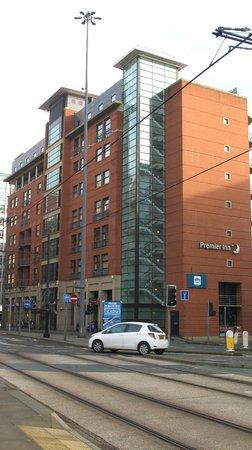 Premier Inn Manchester Central Hotel: Hotel