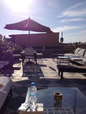 Dar Jaguar: Roof terrece