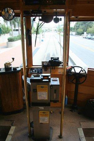 TECO Line Streetcar System : Führerstand