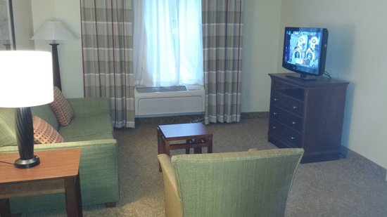 Country Inn & Suites By Carlson, Anderson: Spacious Living Room