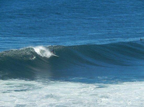 Punta de Lobos: Kayayan surfer