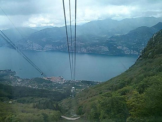 View From The Cable Car On Way To Mount Baldo Picture Of Monte