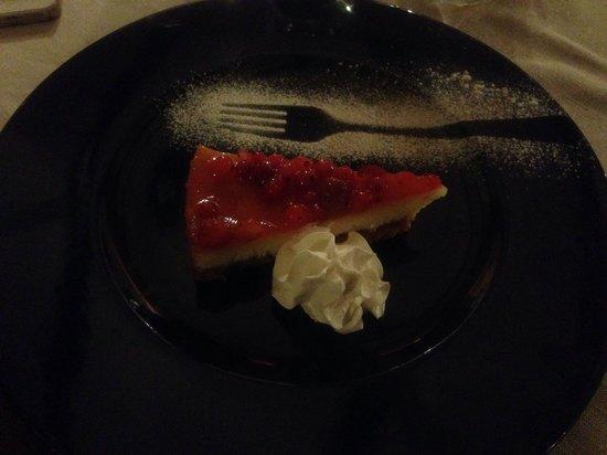 Fish House Ristorante Pizzeria: Cheesecake alle fragole
