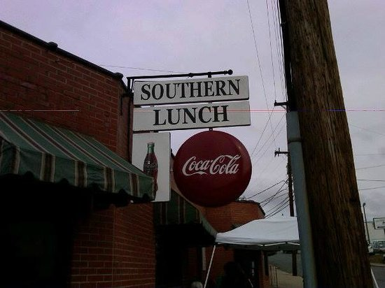 Southern Lunch Catering: It says Coke, but they serve Pepsi products.
