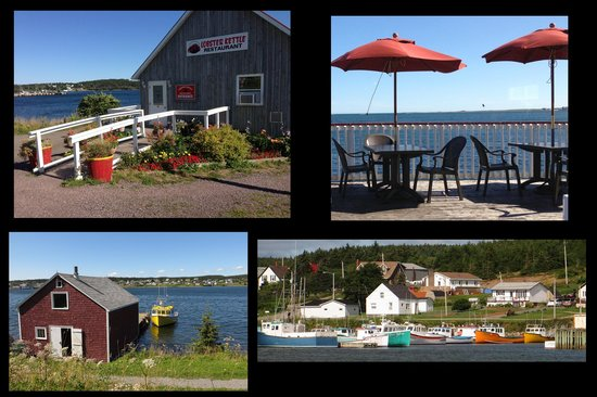 Louisbourg Harbour Inn: Louisbourg sites composite