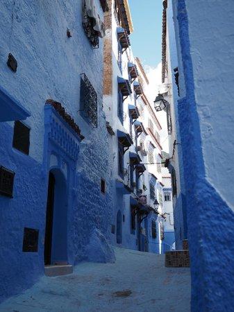 Casa La Palma: Calle de Chauen