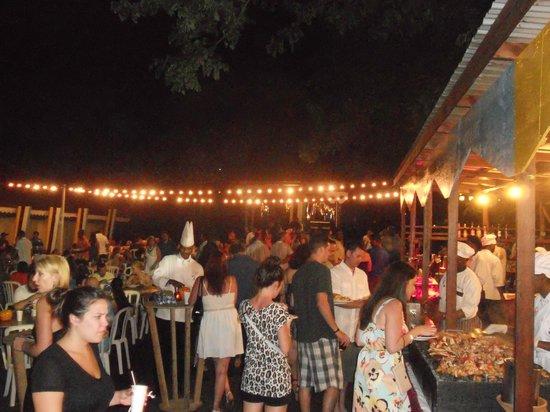 Sandals Regency La Toc: Street party