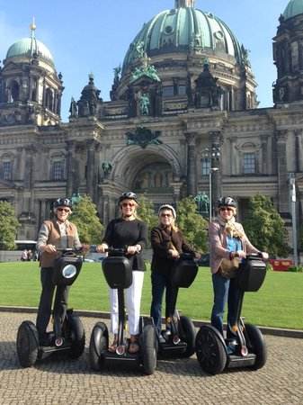 City Segway Tours: Family Trip to Berlin