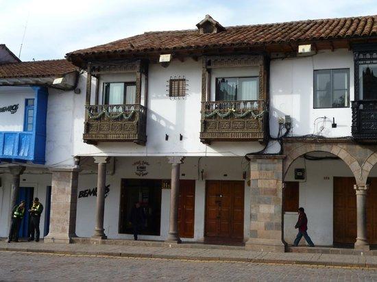Fachada do El Virrey Boutique Hostal-Cuzco-PE