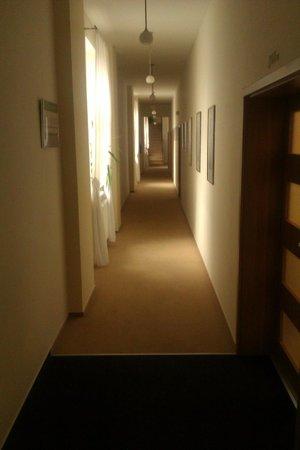 Hotel Richtr: korytarz
