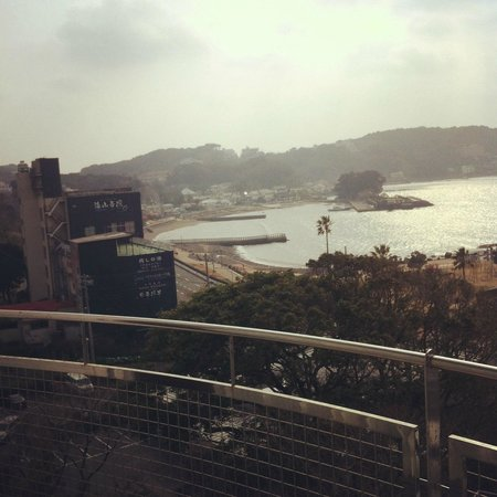 Shimoda Bay Kushiro: Early morning view from room in March