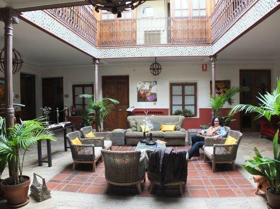 La Vida de Antes Rural Hotel : El patio