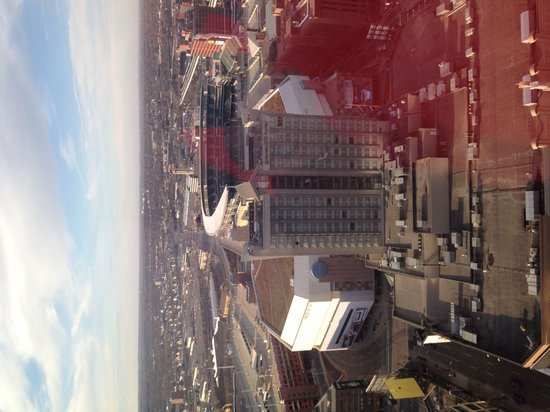 Minneapolis Marriott City Center: View from our suite on 31st floor