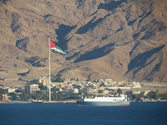 U Suites Eilat : Over looking Jordan