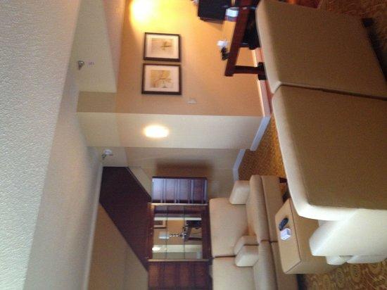 Minneapolis Marriott City Center : Our suite