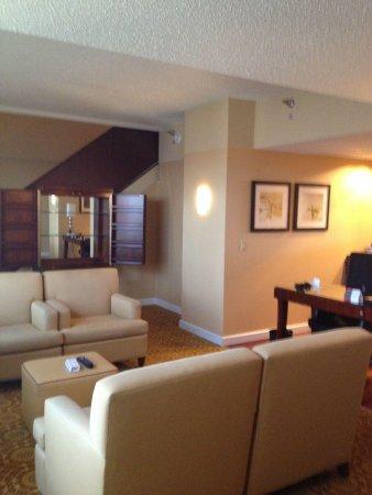 Minneapolis Marriott City Center: Our suite