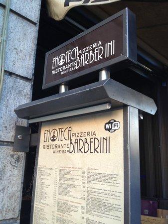 Enoteca Barberini (outside)