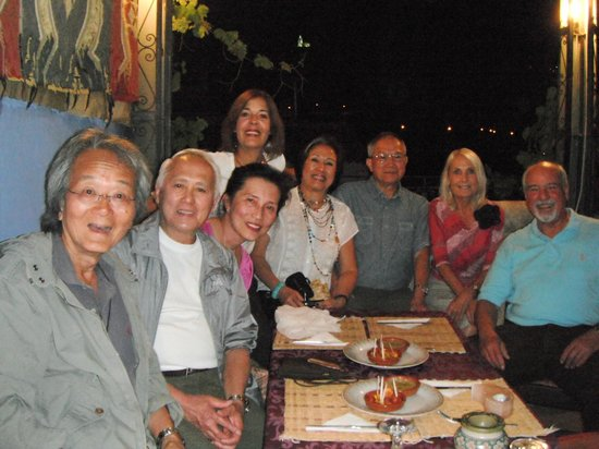 DARCOM: Our group of friends at the roof terrace...