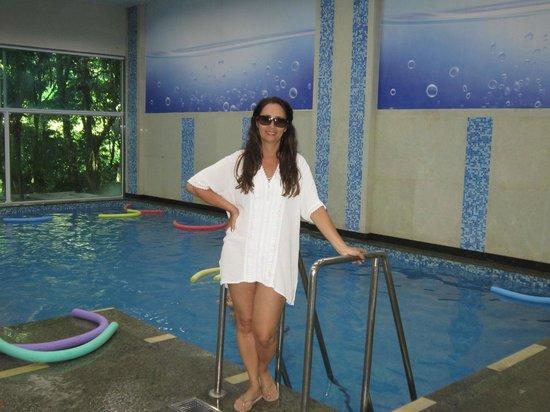 Hotel Porto Real: Piscina aquecida