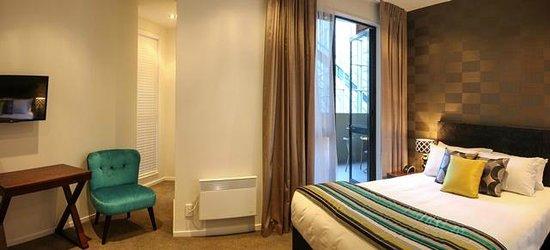 Hotel 115 Christchurch : Room