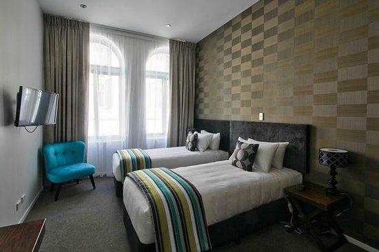 Hotel 115 Christchurch : Twin room
